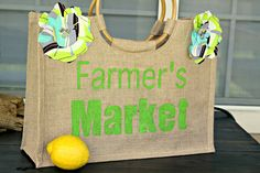 DIY Farmer's Market Bag