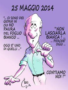 ITALIAN COMICS -  vignetta di Mario Airaghi: Oggi contiamo noi