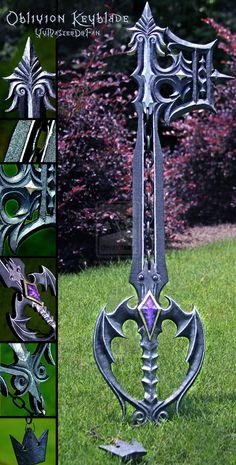 Oblivion Keyblade v2.0 by vvmasterdrfan.deviantart.com