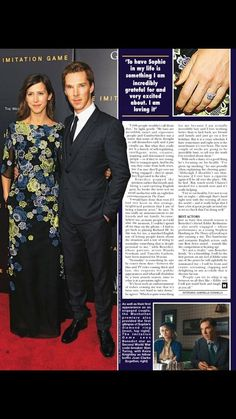 Hello Magazine - 25th November, 2014- Benedict Cumberbatch interview about The Imitation Game, his engagement to theatre director Sophie Hunter, and more. (Page 3 of 5)