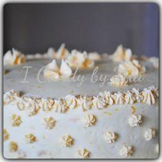 Tort cytrynowo - pomarańczowy | ICandy