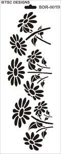 Paisley Stencil, Rose Stencil, Flower Stencils, Stencil Templates, Stencil Patterns, Stencil Designs, Embroidery Patterns, Machine Embroidery, Small Canvas Paintings