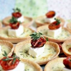 Appetizer with feta cheese