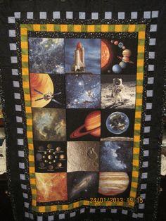 Space quilt December 2012