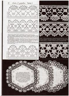 Crochê Tricô - Gráficos: Lindos Barrados