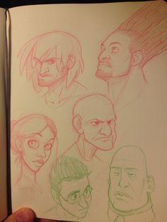 Sketch of the Artist Randy Bishop... Amazing https://www.facebook.com/randybishopart?fref=photo