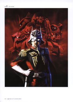 Casval Rem Deikun aka Char Aznable from early on in the Gundam franchise.  Still one of my favorite characters in anime.