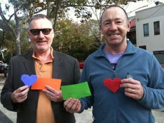 TEHP Participants - an artistic work supporting marriage equality.