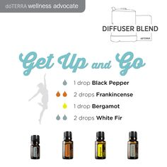 Need a pick me up? Try this combination in your essential oil diffuser.