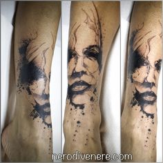 #tattoo #girl #portrait #selfie #tattooist #illustration #artwork #sketch #ink #artist #watercolor #trashpolka #tattooidea #drawing #inkmaster #tattooartist