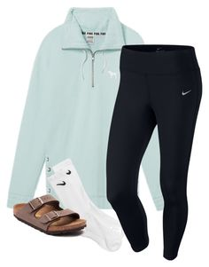 """""""Untitled #161"""" by lhnlila on Polyvore featuring Victoria's Secret, NIKE and Birkenstock"""