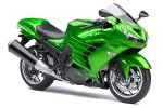 And in Green.   2012 Ninja ZX 14R