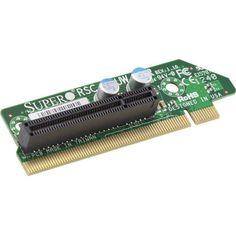 Supermicro RSC-R1UW-E8R 1U RHS WIO & PCI-Express x8 Riser Card