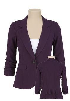 Women&39s Purple Blazer Size Medium | Products Blazers and Purple