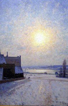 Sun and snow  - ( Per Ekström) GKM