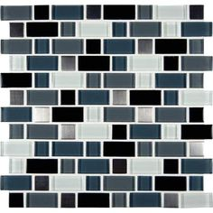 MSI STONE ULC - Crystal Cove Blend Glass/Metal Mesh-mounted Mosaic Wall Tile - THDWG-GLMT-CCB-8MM - Home Depot Canada