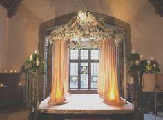 Indoor wedding ceremony arch new alyce paris prom 14 beautiful