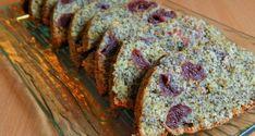 Mákos meggyes gyümölcskenyér - Süss Velem Receptek Banana Bread, Muffin, Food, Poppy, Van, Candy, Essen, Muffins, Meals