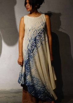 6cf160d97d Asymmetrical Dress, Tie Dyed, Shibori, Dresses Online, Wrapping, Gift  Wrapping,