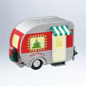 Hallmark ornament 2012 in stores only ~ available mid-July. 2010's was green.