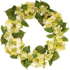 An inviting wreath for your front door that will greet all your guest with a smile.