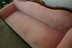 Before: Reupholstering my Grandmother's Antique Sofa