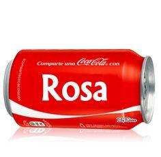 """Muñequitas con Nombres: Coca cola con """" R """""""