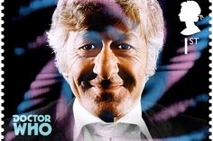 3rd Doctor - Doctor Who 50th stamps - Imgur