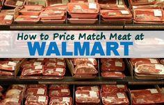 How to Price Match Meat at Walmart via MrsJanuary.com #frugal #savemoney