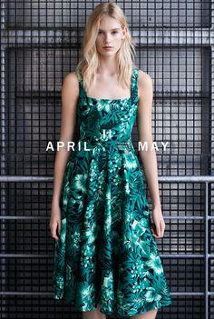 ZARA Woman - Lookbook April