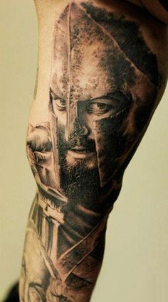 Realism Movies Tattoo by John Maxx - http://worldtattoosgallery.com/realism-movies-tattoo-by-john-maxx-2/