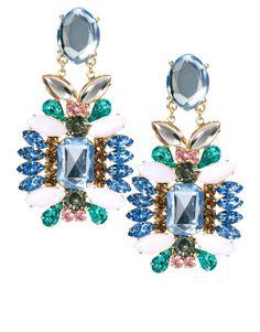 glamorous asos earrings  #chandeliers #earrings #asos