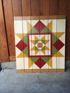 Diy Pottery Barn Planked Wood Quilt Square Want To Make