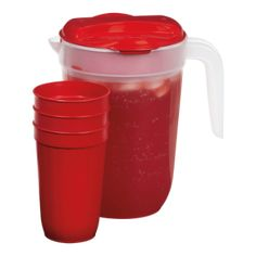 Pitcher with 3 Tumblers