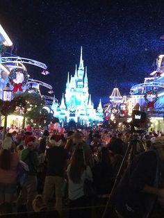 Main Street e Castelo da Cinderela, Natal, Magic Kingom, nov/2014
