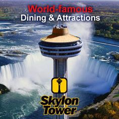 Wonder if we can get @McClaryn Miller to eat up there? lol  Things to do | Niagara Falls Tourism