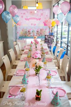 Cath Kidston Inspired Bunny Theme | CatchMyParty.com