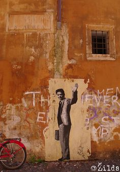 Pasolini by Street Artist: Žilda