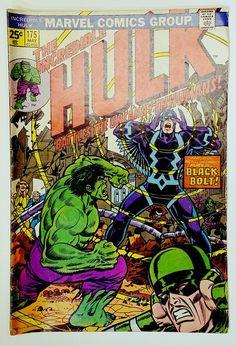 The Incredible Hulk #175 (Marvel 1974) Black Bolt Inhuman Royal Family. Romita