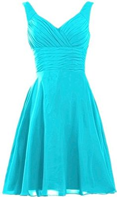 """ANTS Women's Pleated Sweetheart Bridesmaid Dresses A Line Cocktail Gown Size 2 US Turquoise. When adding to cart,please make sure the item sold by """"Ants Bridal"""" only. All of our dresses listed in our Amazon store, is designed, produced, and sell by us(Ants Bridal) Only. If you choose any other seller below our listing,you will be cheated,such as get the terrible product can't use, cheated by invalid package tracking ID and waste long time to wait,Even not get nothing, and finally waste your…"""