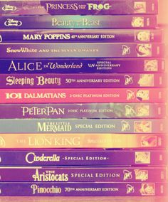 I should really start getting my classic disney movies on DVD instead of VHS. Still kicking it old school