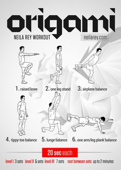 Origami Workout