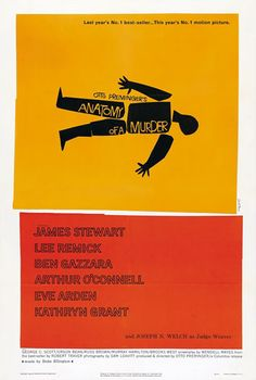 Saul Bass poster, Preminger at the helm, Duke Ellington score...there is nothing not to like here.