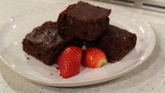 It's Davina McCall's first time as a telly chef and today she's showing us how to make her delicious sugar-free brownies, sweetened with natural ingredients instead of the refined stuff.   Watch Davina chat about going sugar free