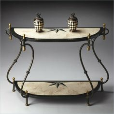 Butler Specialty Metalworks Demilune Console Table - Love this!  http://www.cymax.com/Common/Product/Product.aspx?ID=449460