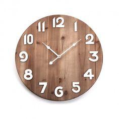 cd4428b29c84 WOODEN WALL CLOCK 50CM  wooden  wall  clock  versa  home RELOJ PARED