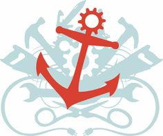 anchor and cog