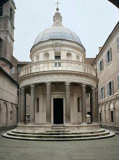 Donato Bramante, Tempietto, S. Pietro in Montorio, Rome (Italy) 1502