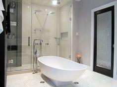 Toilet Room Design, Pictures, Remodel, Decor and Ideas - page 36 Retro Bathrooms, Modern Bathroom, Toilet Room, Bathroom Photos, Timeless Elegance, Modern Contemporary, Modern Retro, Home Interior Design, Home Art