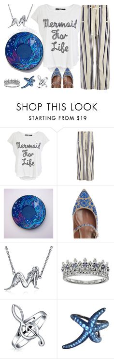 """ASK #13"" by artstudiokatherine ❤ liked on Polyvore featuring Iron Fist, Tabitha Simmons, Bling Jewelry and APM Monaco"
